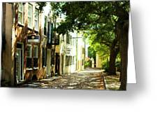 Charleston Streets 2 Greeting Card