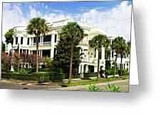 Charleston Style 4 Greeting Card