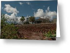 Charleston Walled Garden Greeting Card