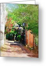 Charlestons Alley Greeting Card