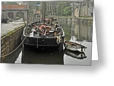 Charlestown Harbour Greeting Card