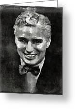 Charlie Chaplin Hollywood Legend Greeting Card