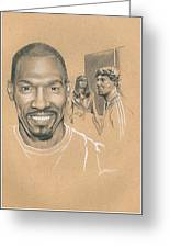 Charlie Murphy Greeting Card