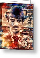 Charlot Colors And Poems  Greeting Card
