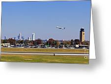 Charlotte Airport Greeting Card