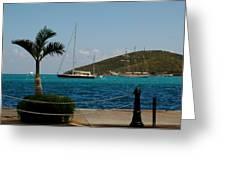 Charlotte Amalie Harbor Greeting Card