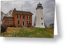 Charlotte-genesee Lighthouse Greeting Card