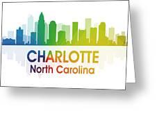 Charlotte Nc Greeting Card