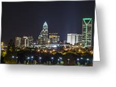 Charlotte Night Greeting Card by Brian Young