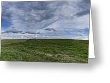 Charlotte Vermont Hay Field Farm Grass Greeting Card