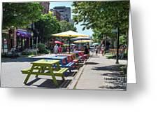 Charlottetown Street Scene Greeting Card