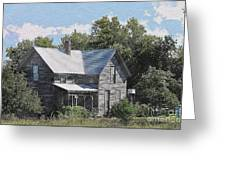 Charming Country Home Greeting Card