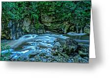 Charming Creek Walkway 1 Greeting Card