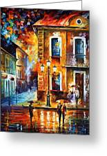 Charming Night Greeting Card