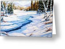 Charming Winter Greeting Card