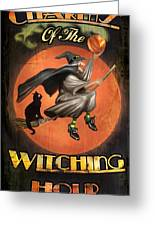 Charms Of The Witching Hour Greeting Card