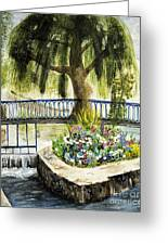 Chartres France Scene Greeting Card