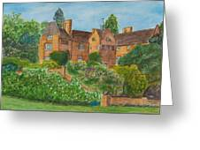 Chartwell House Westerham Kent Greeting Card