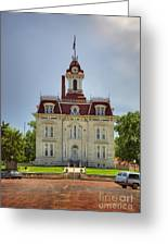 Chase Co Courthouse Greeting Card