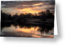 Chasewater Sunrise Greeting Card