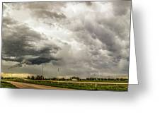 Chasing Nebraska Stormscapes 045 Greeting Card