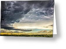 Chasing Nebraska Stormscapes 047 Greeting Card
