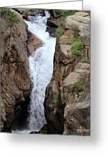 Chasm Falls 2 - Panorama Greeting Card