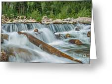 Chasm Falls Greeting Card