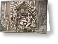 Chastity Belt Greeting Card