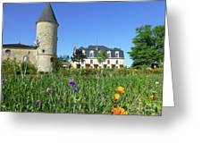 Chateau Guiraud In Spring Greeting Card