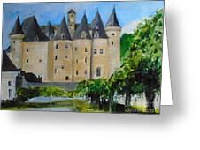 Chateau Jumilhac, France Greeting Card