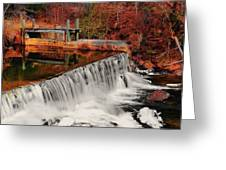 Chattahoochee River Helen Ga 002 Greeting Card