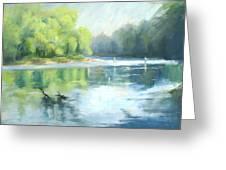 Chattahoochee River- Trout Fishing Greeting Card