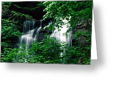 Chattahoochee Waterfall Greeting Card
