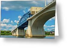 Chattanooga Bridge Greeting Card