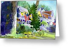 Chautauqua House Greeting Card