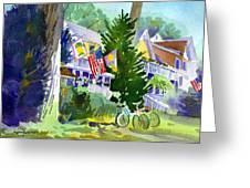 Chautauqua House Greeting Card