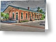 Glendale,ohio Train Depot Greeting Card