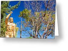 Che Guevara Statue In La Higuera Greeting Card