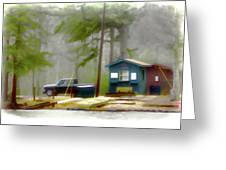 Cheaha Lake Greeting Card