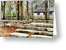 Cheaha State Park In The Fall Greeting Card