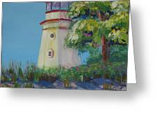 Cheboygan Lighthouse Greeting Card