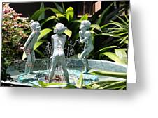 Cheekwood Fountain Greeting Card