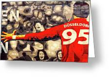 Cheer For Dusseldorf Greeting Card