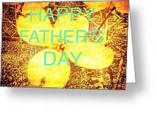 Cheerful Father's Day Greeting Card