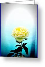 Cheerful Yellow Rose Greeting Card