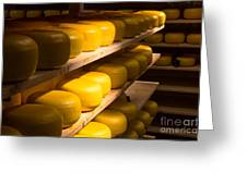Cheese Factory Greeting Card