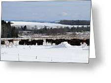 Cheese Makers With A View Greeting Card