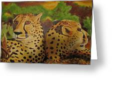 Cheetah 2 Greeting Card