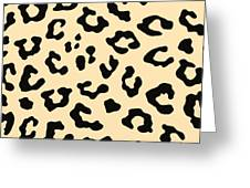 Cheetah Fur Greeting Card